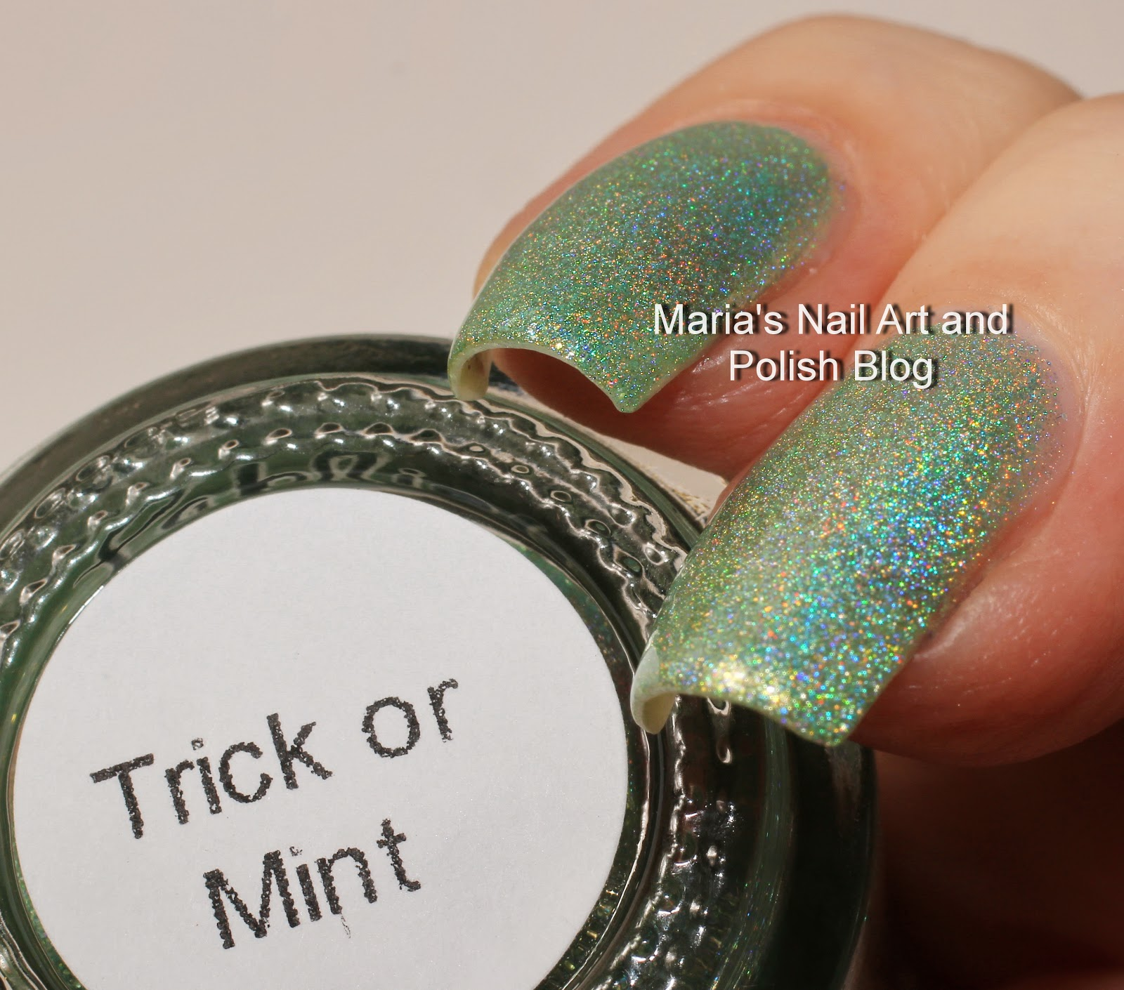 L B K Nail Lacquers Are Unique And Beautiful Giveaway: Marias Nail Art And Polish Blog: Pahlish Caramel Apple