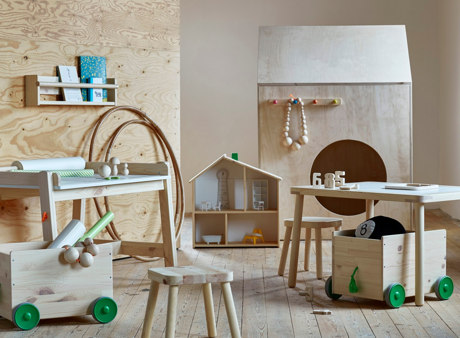 Habitaciones infantiles que nos enamoran 2 lo nuevo de ikea - Ikea estanterias ninos ...