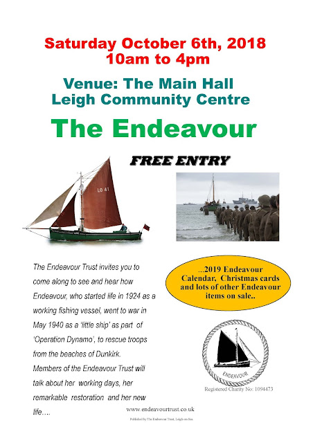 Endeavour Oct 18 Event
