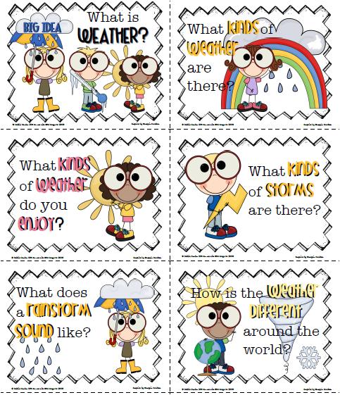 Similiar First Grade Weather Unit Keywords