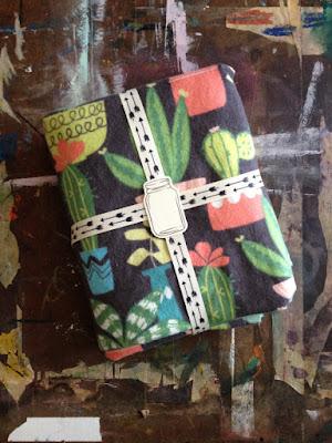 Cactus Baby Blanket Baby Shower Gift Succulent Plants Blankie Newborn