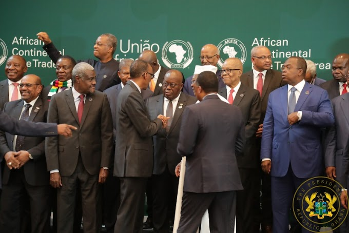 """""""Ghana Committed To CFTA's Success"""" – President Akufo-Addo"""
