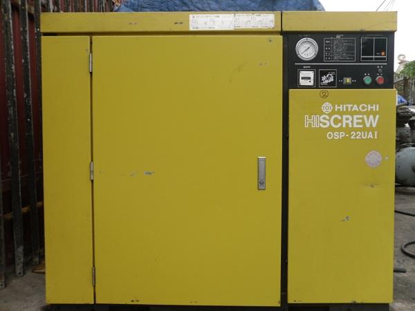 máy nén khí cũ Hitachi trục vít OSP-22UAI