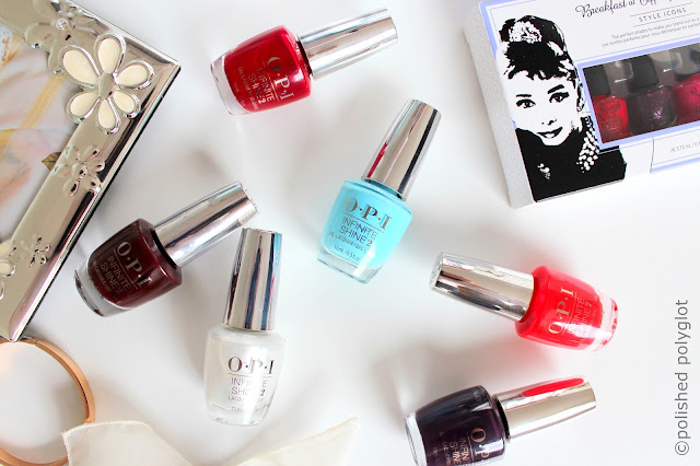 OPI Breakfast at Tiffany's Holiday Infinite Shine Collection