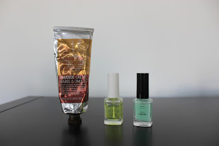 Clothes & Dreams: My Nail Care Routine: The Body Shop hand and nail cream, Hema Cuticle Oil, Hema Nail Serum