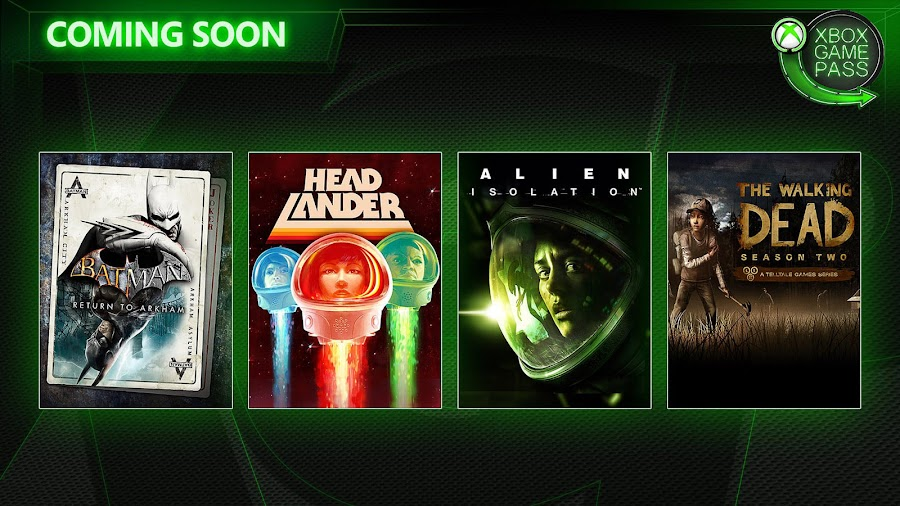 xbox game pass alien isolation the walking dead season 2 xb1 2019