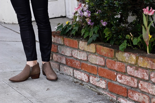 Booties, Steve Madden, zipper, short, low, Current Habits, shoe