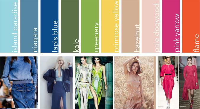 moda kolory 2017