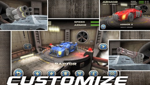 screenshot 1 Battle Riders v1.0