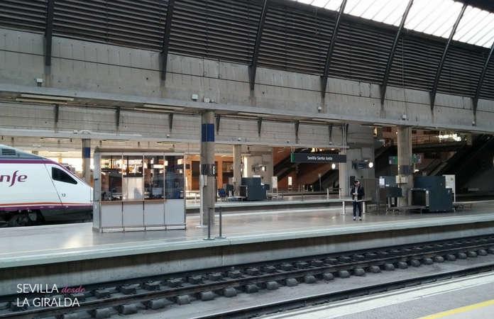 Tren Ave estación de Santa Justa Sevilla