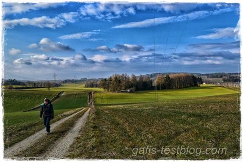 Wanderung im März