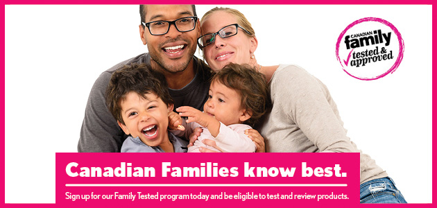 Become a Canadian Family Product Tester