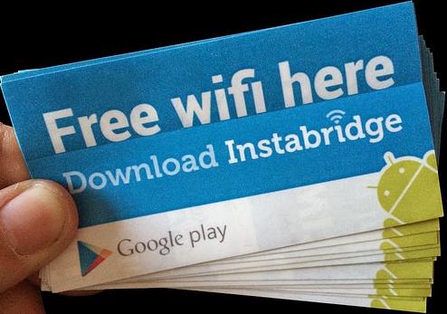 WiFi Gratis Instabridge