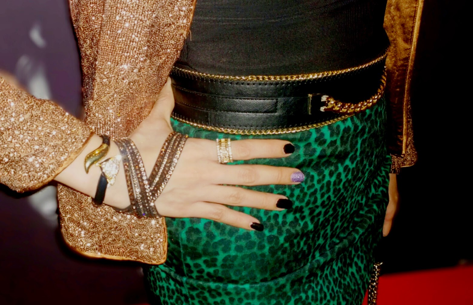 Swarovski Slake Bracelet, Fox Bracelet, Forever 21 Ring