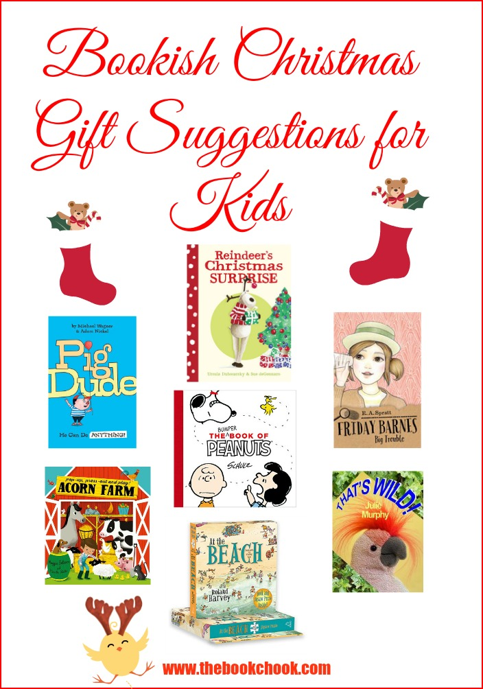 The Book Chook: Bookish Christmas Gift Suggestions for Kids, 2015