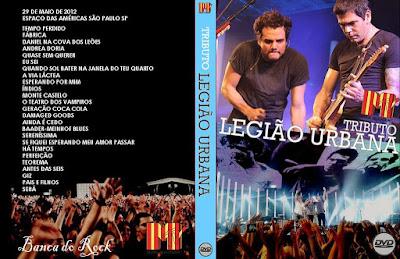 Tributo à Legião Urbana MTV Ao Vivo DVD Capa