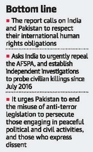India calls UN report on Kashmir fallacious