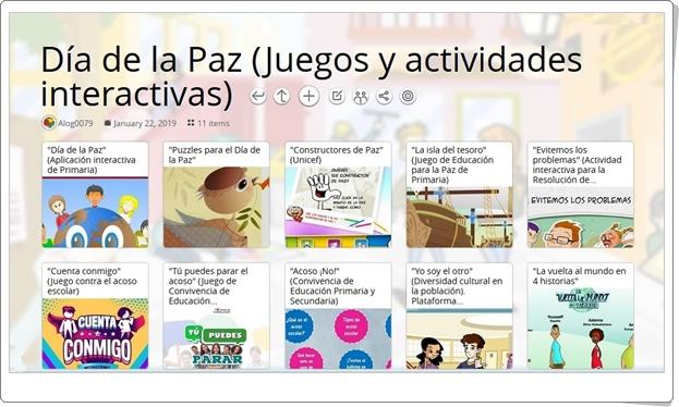 """""""11 Juegos y actividades interactivas para la celebración de el DÍA DE LA PAZ"""" (30 de enero)"""