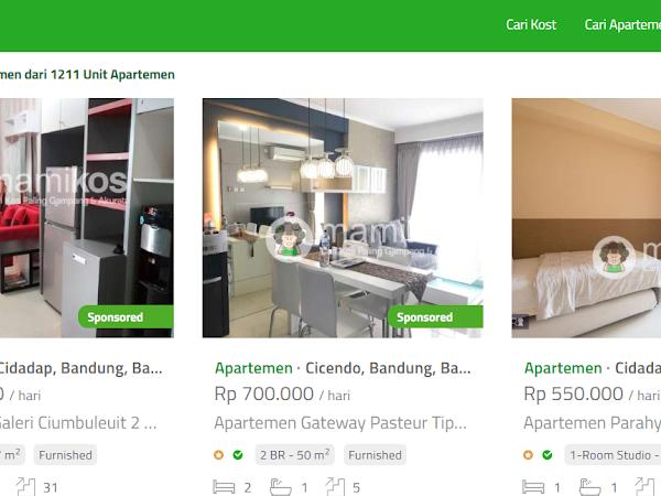 Mau Sewa Apartemen ? Gunakan Mamikos.com Lebih Praktis