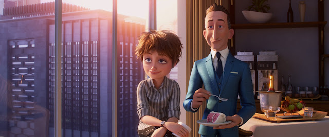 Incredibles 2 Winston and Evelyn Deavor