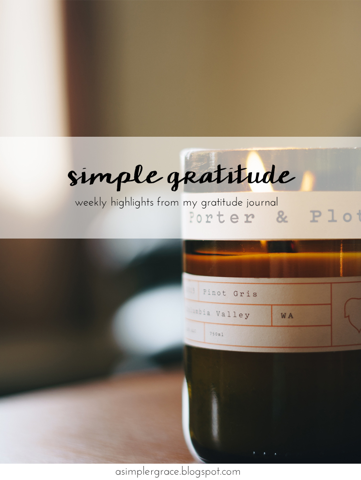 Sharing my #gratefulheart on the blog #gratitude #feelingthankful Simple Gratitude | 61 - A Simpler Grace