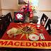 Macedonian Patriotic Art: Dinner Macedonian Style