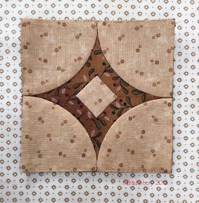 Dear Jane Quilt - Block M13 Lynette's Diamond