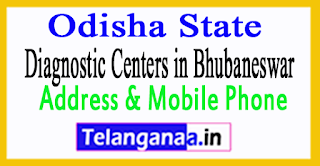Diagnostic Centers in Bhubaneswar In Odisha