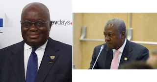 The Former President Mahama chases Akufo-Addo over Gh50bn loan.