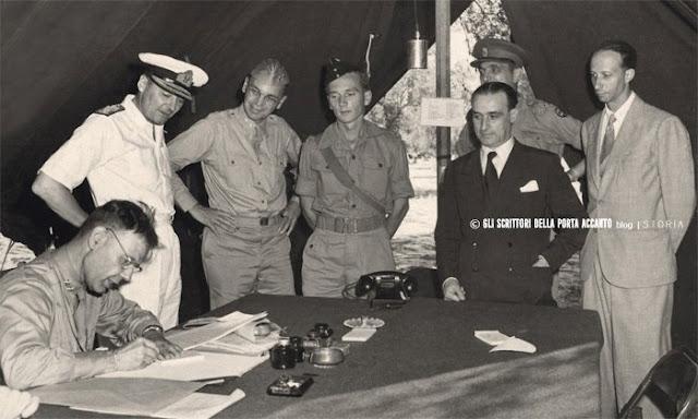 Armistizio di Cassibile tra italiani e anglo-americani (1943)