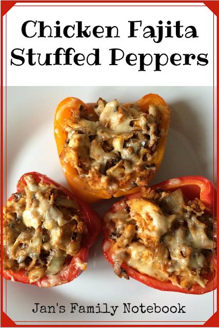 Chicken Fajita Stuffed Peppers Recipe