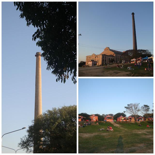 Pôr do sol em Porto Alegre - Usina do Gasômetro