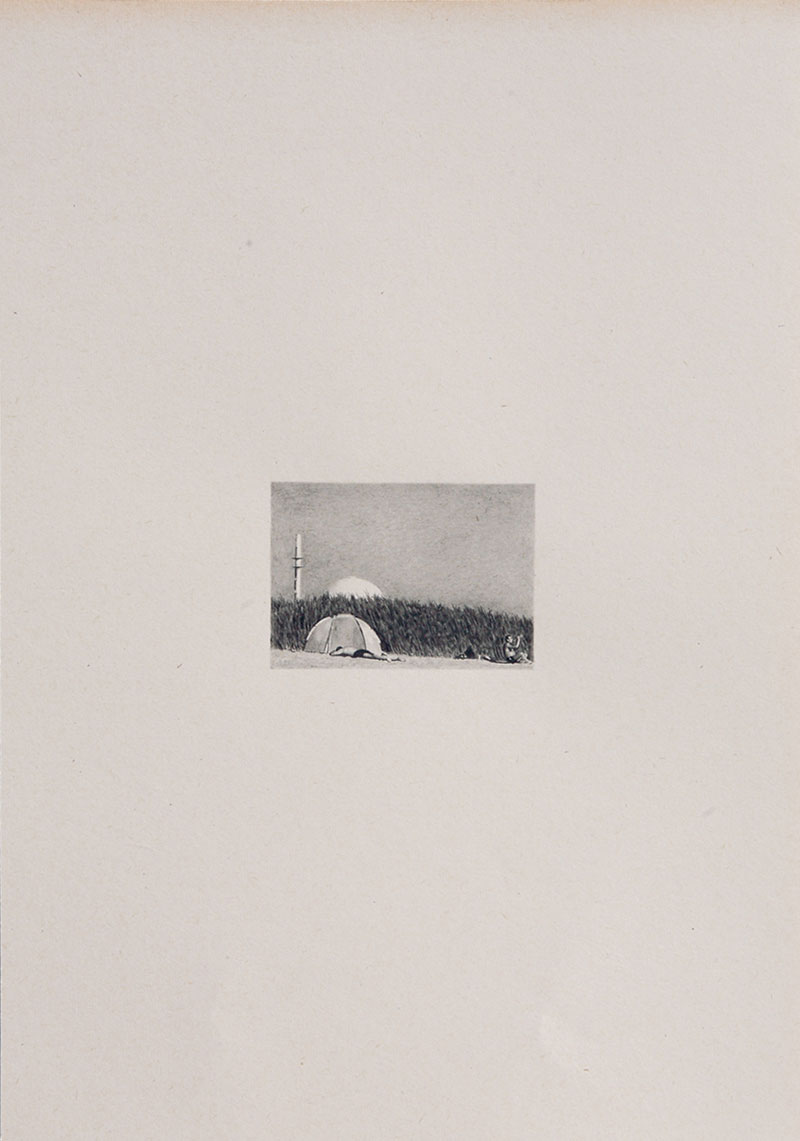 The Shadow of an Unseen Power: Drawings by Lisa Wilkens