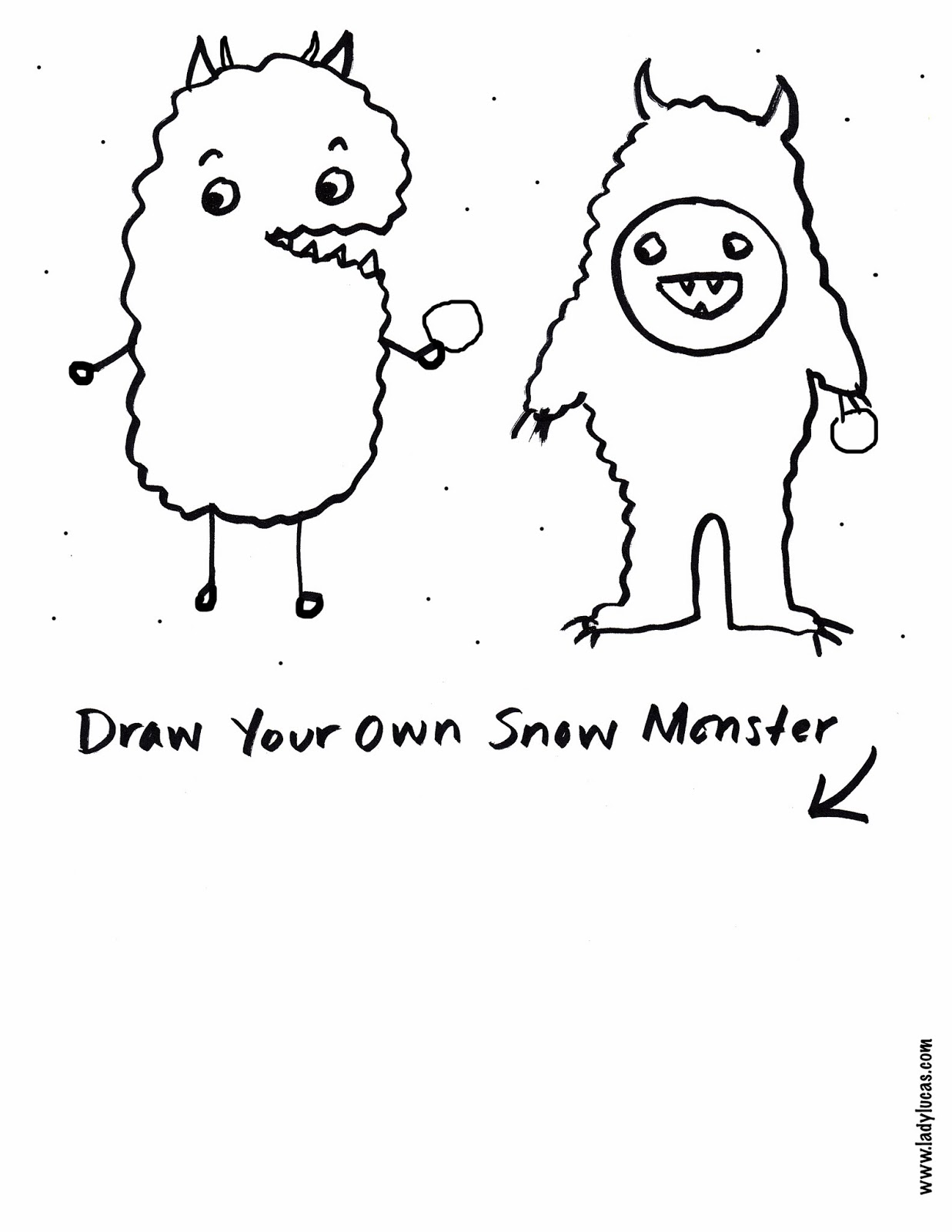 Cupcakes Owls Snow Monster Draw Amp Color For Kids