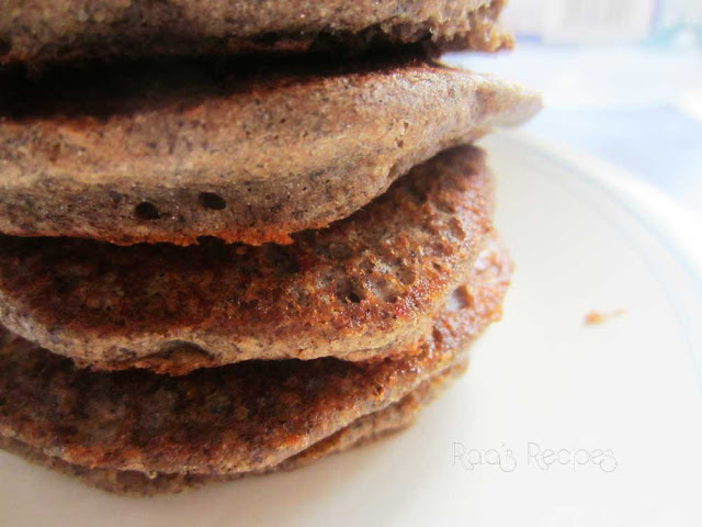 Soaked Buckwheat & Sorghum Pancakes | www.RaiasRecipes.com