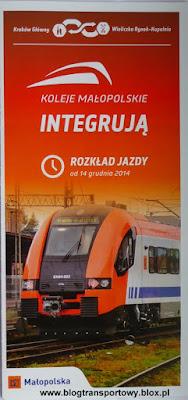 Koleje Małopolskie - rozkład jazdy