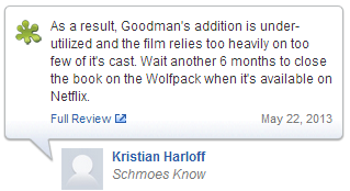 What The Critics Are Saying?: The Hangover Part III - Film