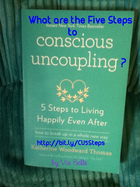 What Are the 5 Steps to Your Conscious Uncoupling?, book review, blogging for books, conscious uncoupling, separation, divorce, New York bestseller, Katherine Woodward Thomas, Making the best of it, 5 steps to living happily even after, via bella