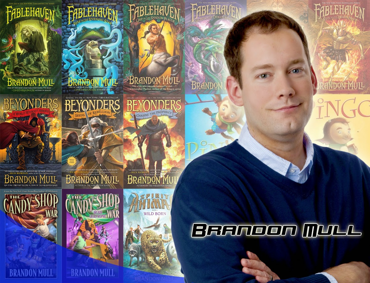 Fablehaven is my favorite book series: Brandon Mull