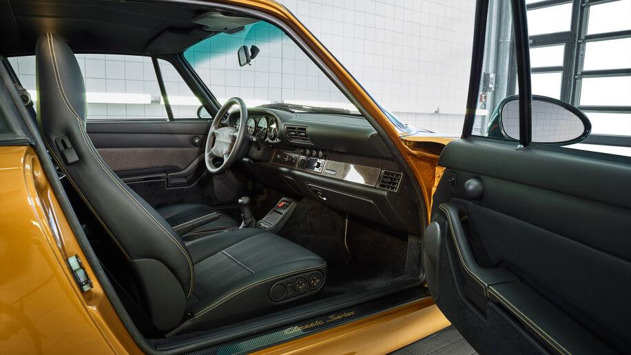 Porsche's Project Gold 911 Restored -New 993 Turbo