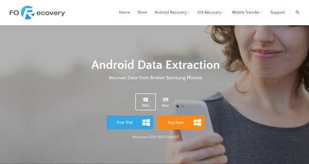 dr.fone toolkit android extraction
