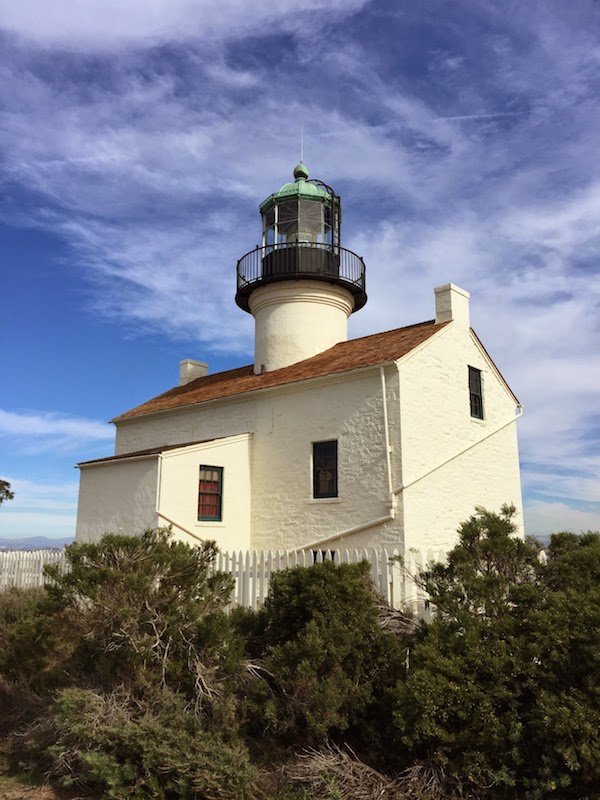 Lighthouse at Point Loma, San Diego