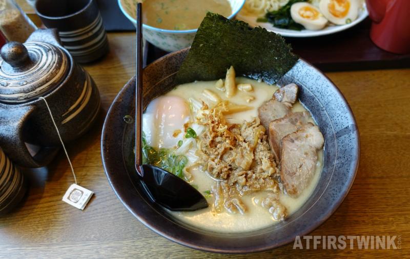 Takumi Düsseldorf Rotterdam buta tama tonkotsu ramen cha sui pork soft boiled egg