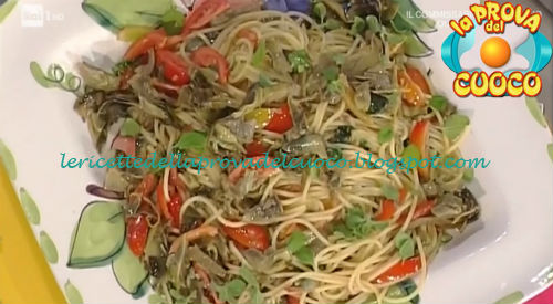 Spaghetti alla Mario Ruoppolo ricetta Messeri da Prova del Cuoco