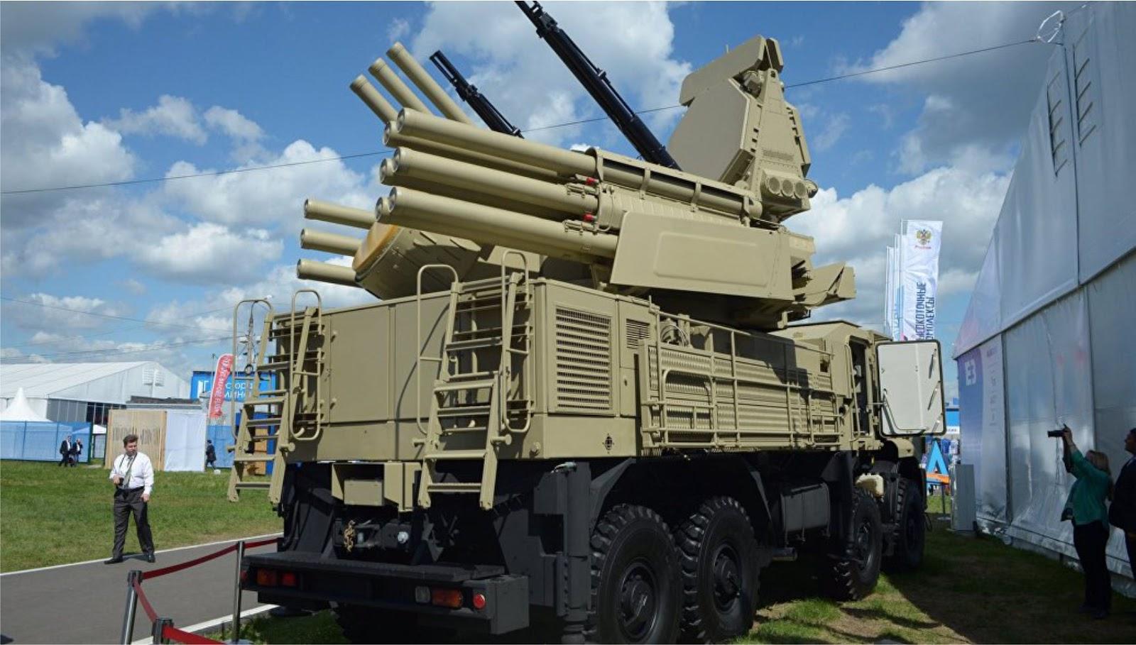 Rusia akan menciptakan sistem pertahanan udara baru