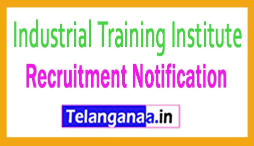 Industrial Training Institute ITI Recruitment