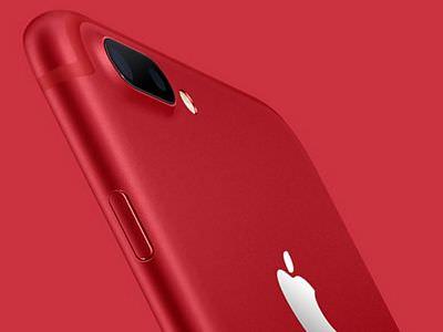紅色iphone 7