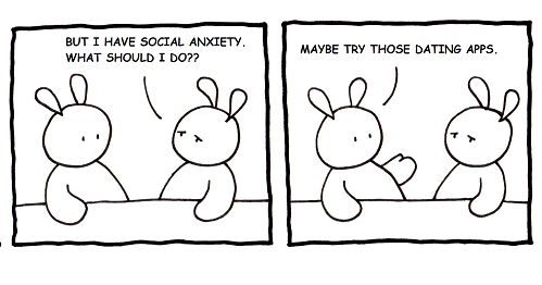 Dating a person with social anxiety