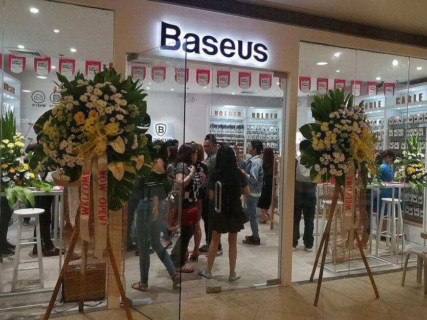 Baseus Opens Its First Flagship Store in PH; Quality Gadget Accessories for Less