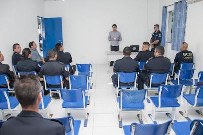 Guarda Civil de Ubatuba participa de curso de Técnicas de Ensino Policial